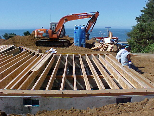 Cannon beach for Post beam construction